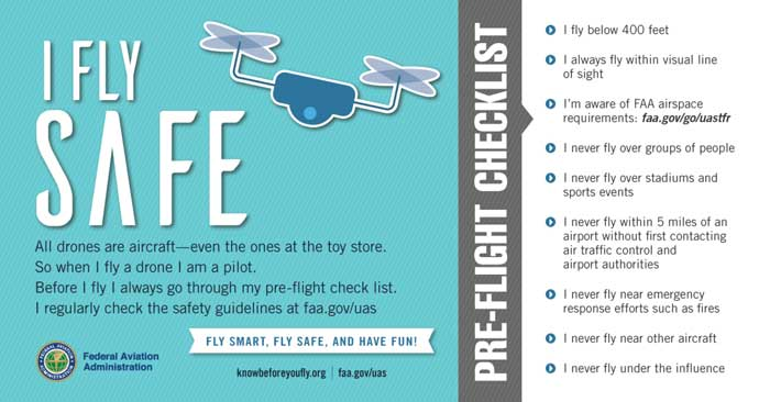 FAAs_Pre-flight Checklist